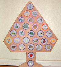 photo about Jesse Tree Symbols Printable titled The Roman Catholic Diocese of Erie, Pa.