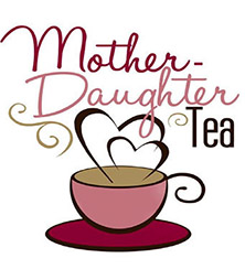 logo for mother-daughter tea