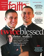 Faith magazine issue May/June 2006