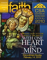 Faith magazine issue CSA 2010