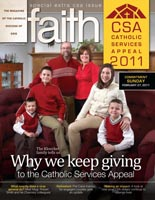 Faith magazine issue CSA 2011