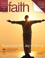 Faith magazine issue CSA 2012